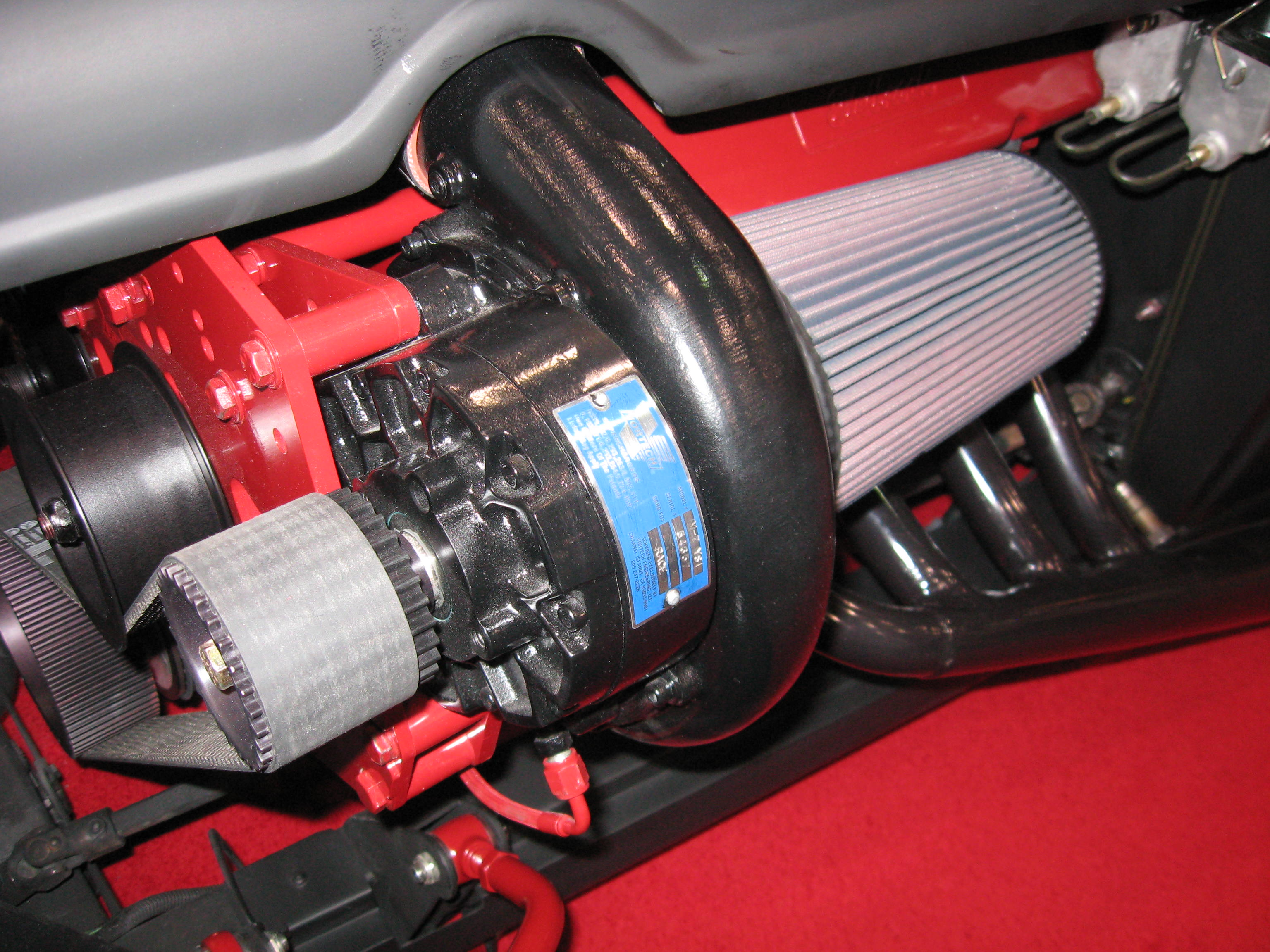 Ford Hydrogen Ice Supercharged