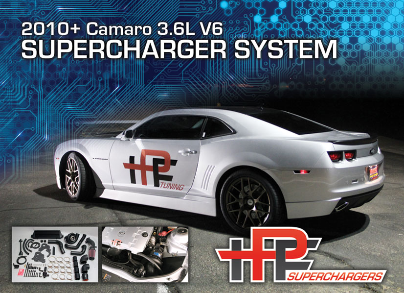 IPF Tuning V6 Camaro Supercharging System Now Available… | Vortech