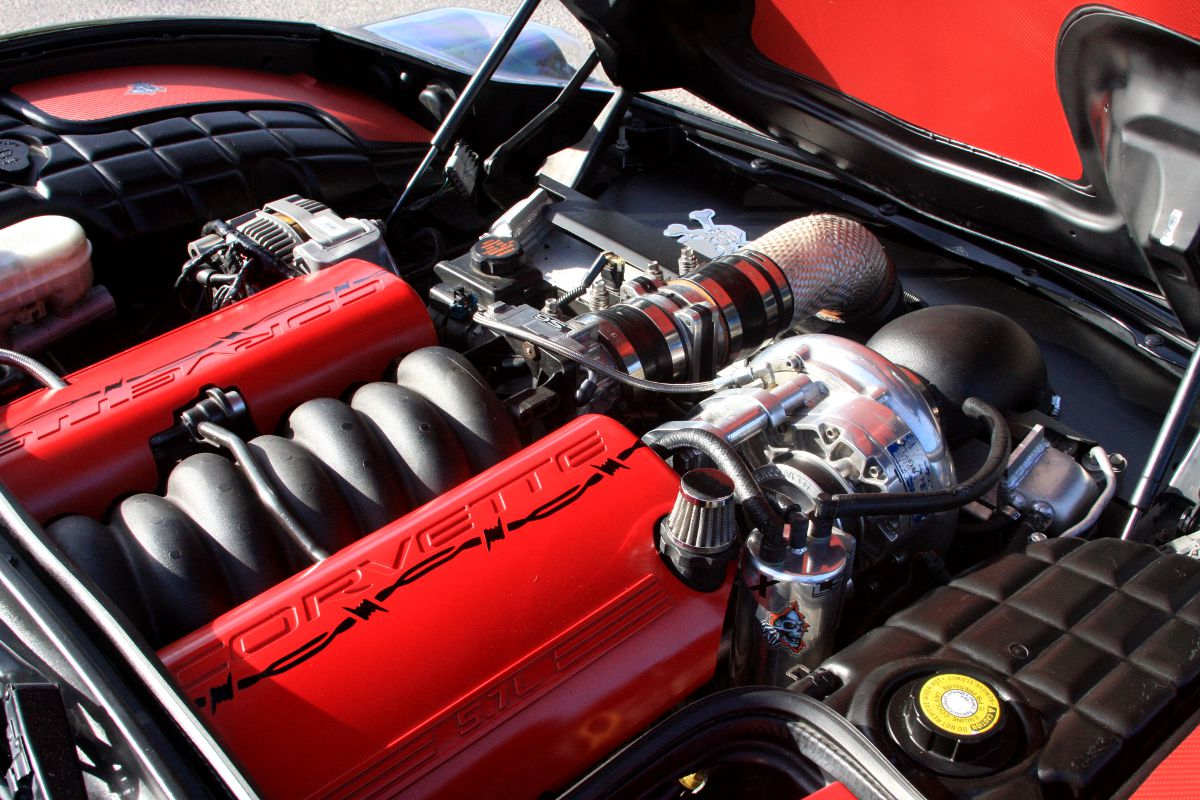 "Ain't No Saint"": Tony St  John's Vortech Supercharged C5"