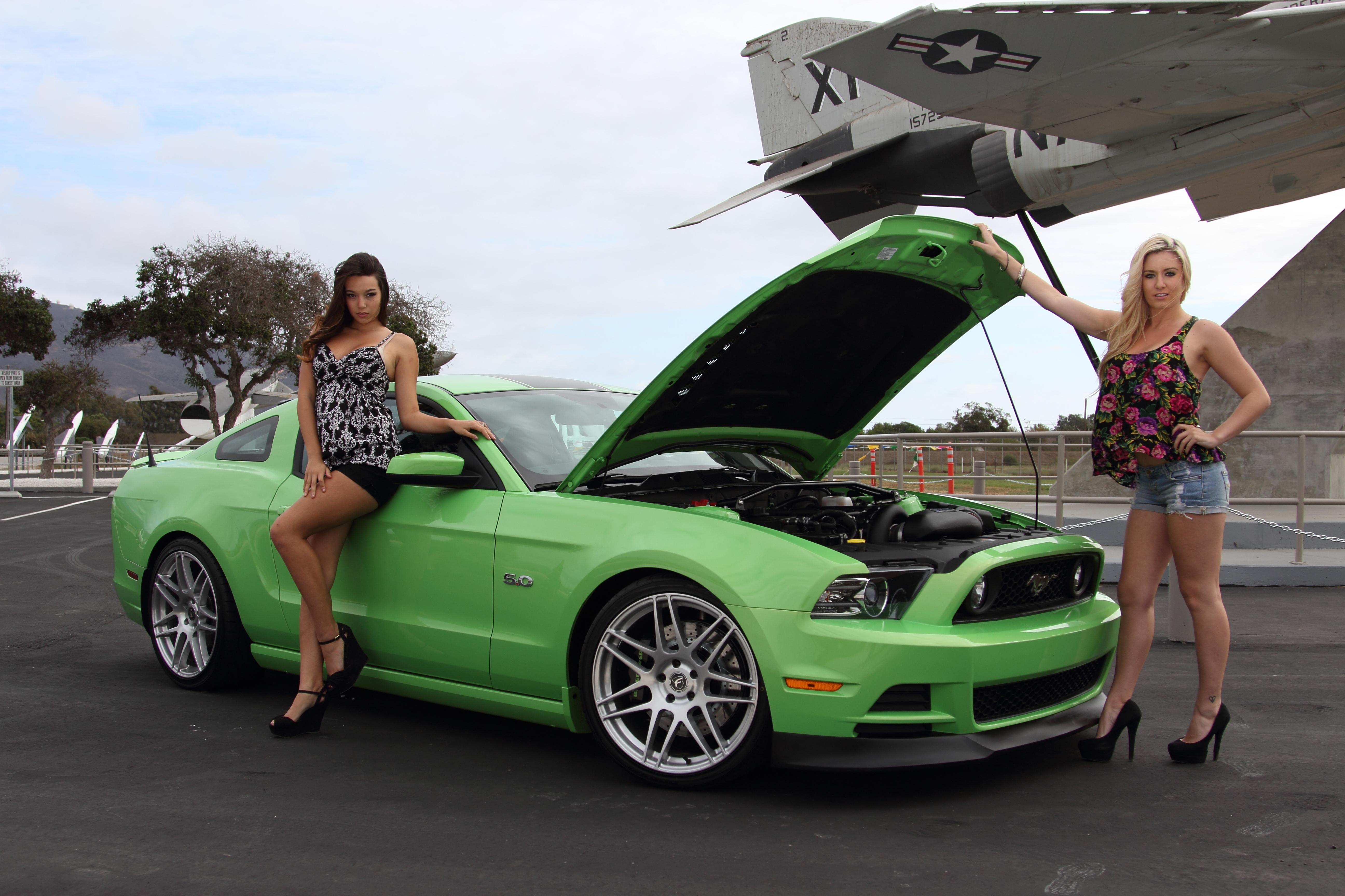 Mustang Vortech Supercharger
