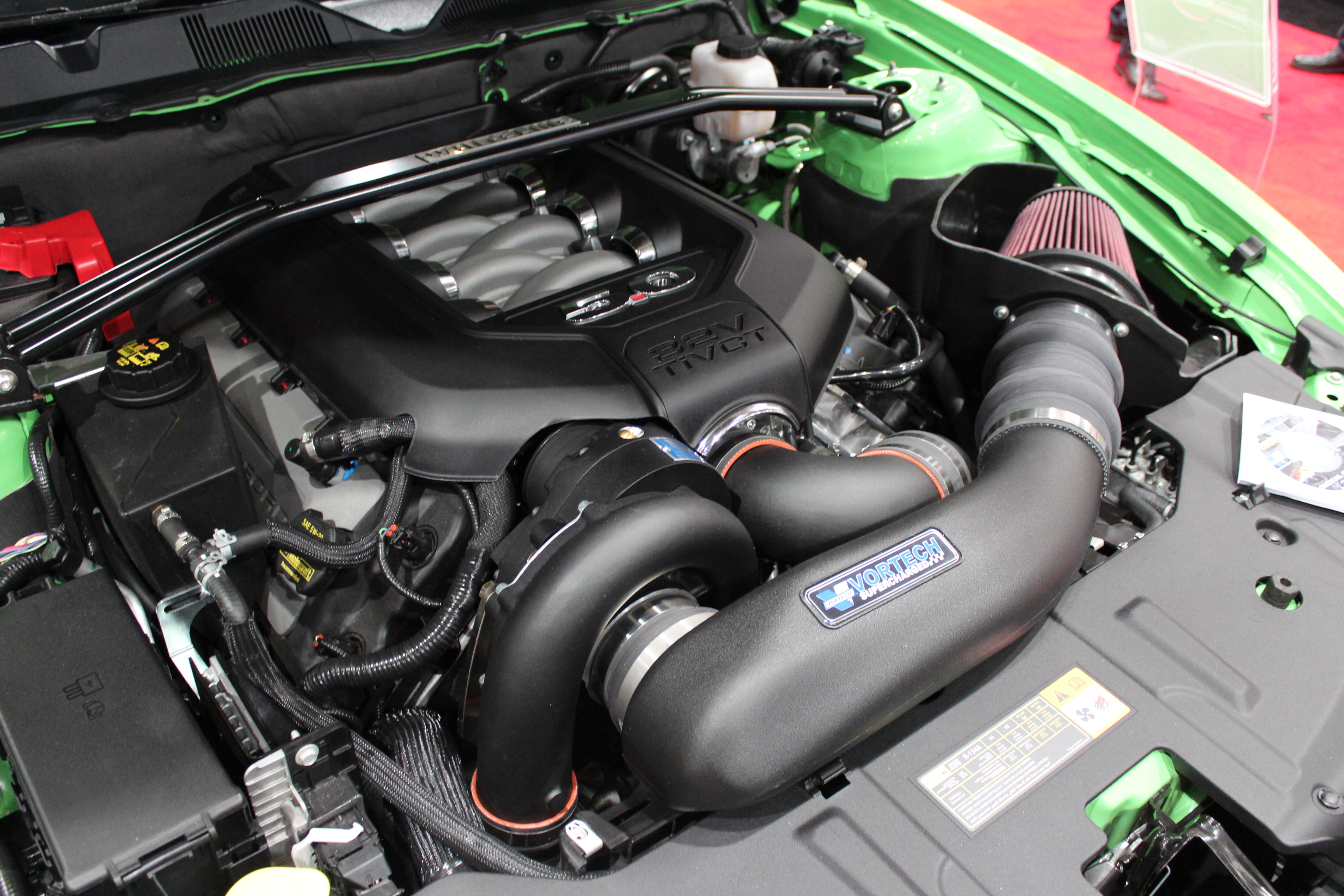 Nikki Frost's Vortech V-3 Si Supercharged 2013 Mustang GT in