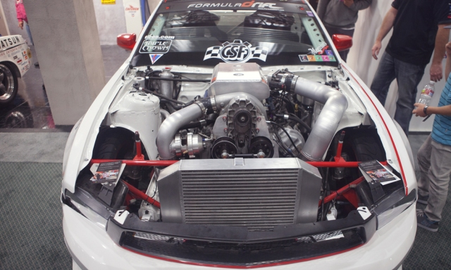 Vortech Supercharged ebay Motors Drift Mustang