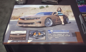 Posters of the Vortech Supercharged Tjin Edition Chevy Camaro 1LE