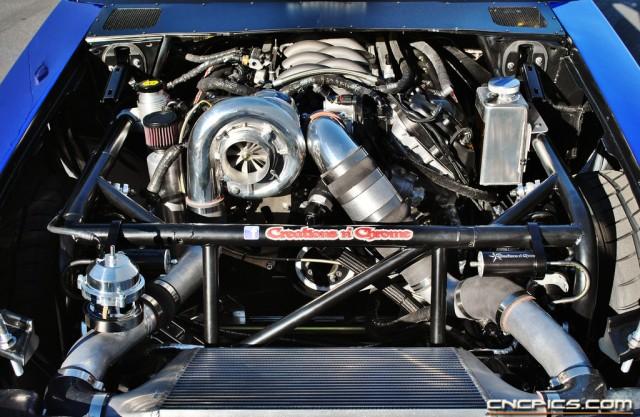 Top Notch's Vortech V-7 JT Supercharged Aluminator 5.0 Powerplant