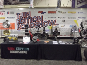 Tjin Edition Roadshow at the PA Auto Show