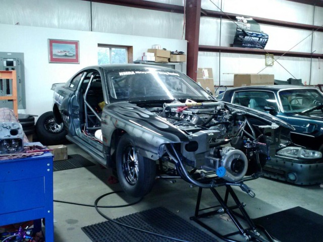 Andy Manson's Vortech XB-105 Supercharged NMRA Street Outlaw Mustang