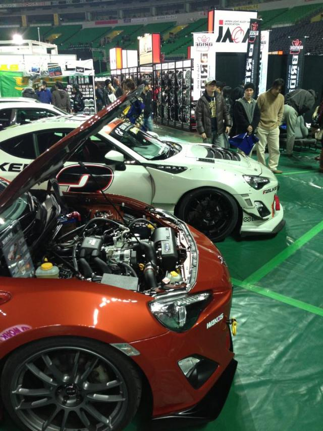 Tuning Factory Budouya Vortech Supercharged FT86 @ Fukuoka Custom Car Show 2013