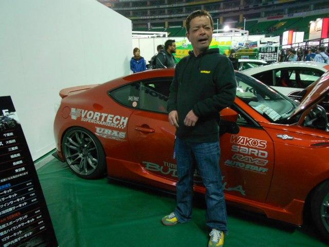 Mr. Uras himself, famous D1 drift driver Ken Nomura!!