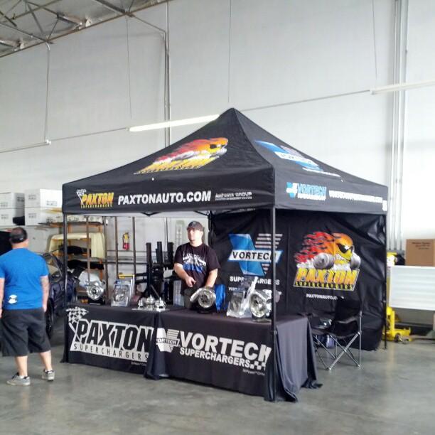 Vortech & Paxton Booth