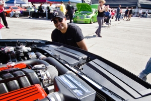 Ralph Gilles Signing Jon Sibal's Vortech Supercharged Challenger R/T