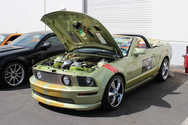 "Thomas R's Paxton NOVI 2200 Supercharged ""Gator"" S197 Mustang GT"