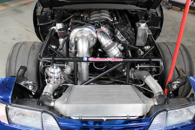 Creations n' Chrome's Vortech V-7 JT Supercharged Project Top Notch Mustang