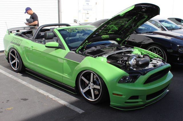 TruFiber's Paxton NOVI 2200 Supercharged 2013 Mustang GT Convertible