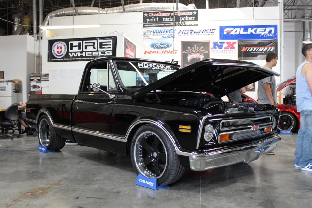 Cn'C's Vortech V-7 YSi Supercharged Project Unfinished Business Chevy C-10 Truck
