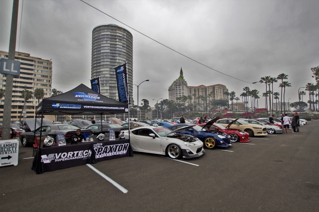 Vortech Booth at Formula Drift Long Beach