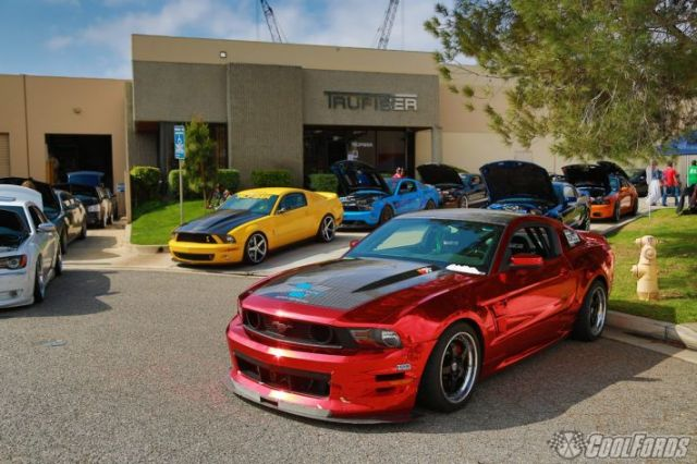 """Creations n' Chrome's Vortech V-3 Si Supercharged """"Boy Racer"""" 5.0L Mustang GT"""