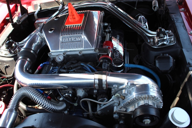 Paxton NOVI 1200 Supercharged Carbureted 68 Mustang