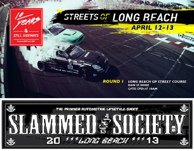 Formula Drift & Slammed Society Long Beach