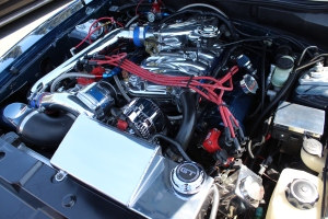 Blue Vortech V-2 T Supercharged SN95 GT