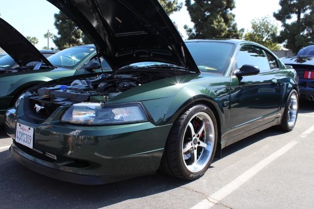 Vortech V-2 Supercharged Bullitt Mustang