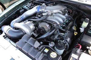 Vortech V-2 Supercharged '01 Bullitt Mustang