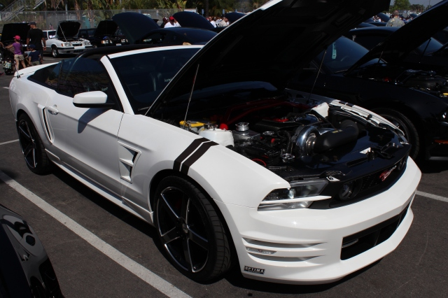 Franklin P's Paxton NOVI 2200 Supercharged Coyote 5.0L Mustang GT Convertible