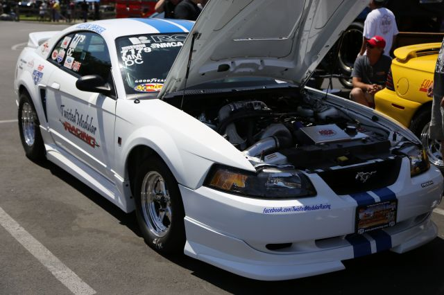 Justen Spencer's Twisted Modular Racing PSCA Mustang GT