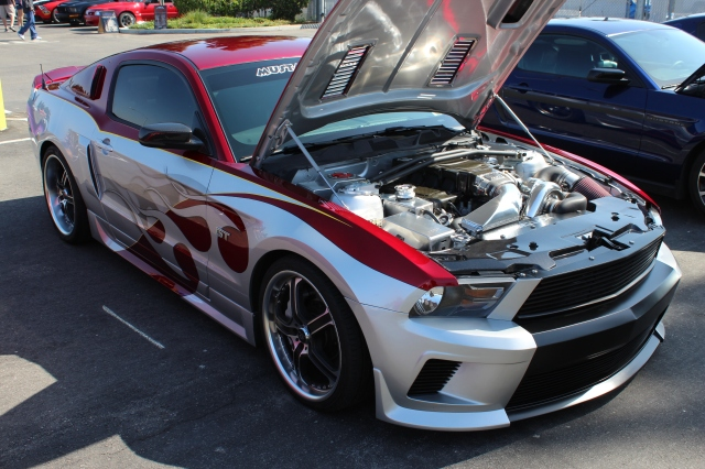 Mustang Depot Paxton NOVI 2200 Supercharged Rebellion Mustang GT