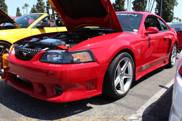 Red Vortech  V-3 Supercharged Saleen S281