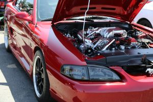 Red Vortech V-2 Supercharged SN95 GT