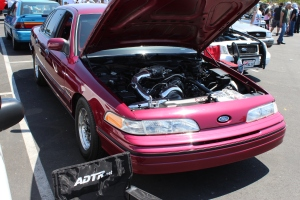 "ADTR's 622RWHP NOVI 2000 Supercharged ""Rocket Couch"" Crown Victoria"
