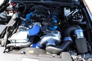 Vortech V-3 Si Supercharged V6 Mustang Police Car