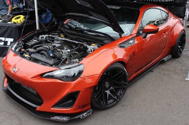 Staycrushing Vortech V-3 H67B Supercharged Rocket Bunny FR-S
