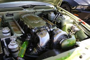 Thomas R's Paxton NOVI 2200 Supercharged Gator Mustang GT
