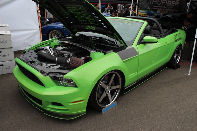 Trufiber's Paxton NOVI 2200 Supercharged 5.0L Mustang GT Convertible