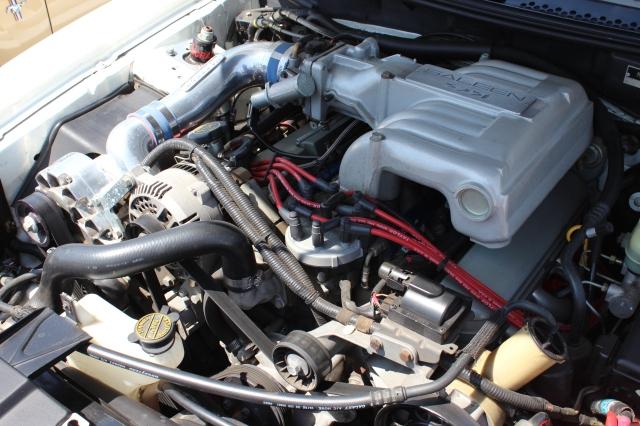 White Vortech V-1 Supercharged Saleen S351