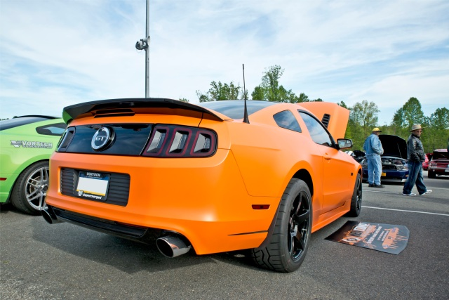 Keith Fidura's V-3 Si Supercharged 5.0L Mustang GT