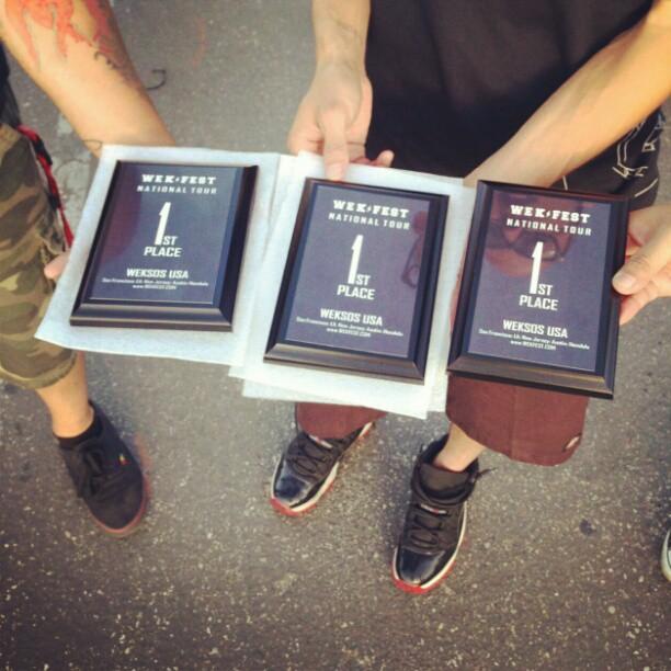 Wekfest Long Beach Awards
