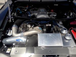 Black SN95 Vortech Supercharged Cobra