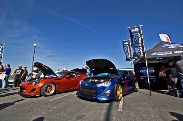 Wekfest Long Beach Vortech Booth