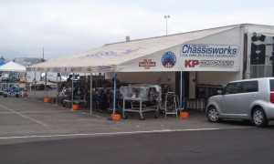 Vortech Superchargers in the Chris Alston's Chassisworks Booth