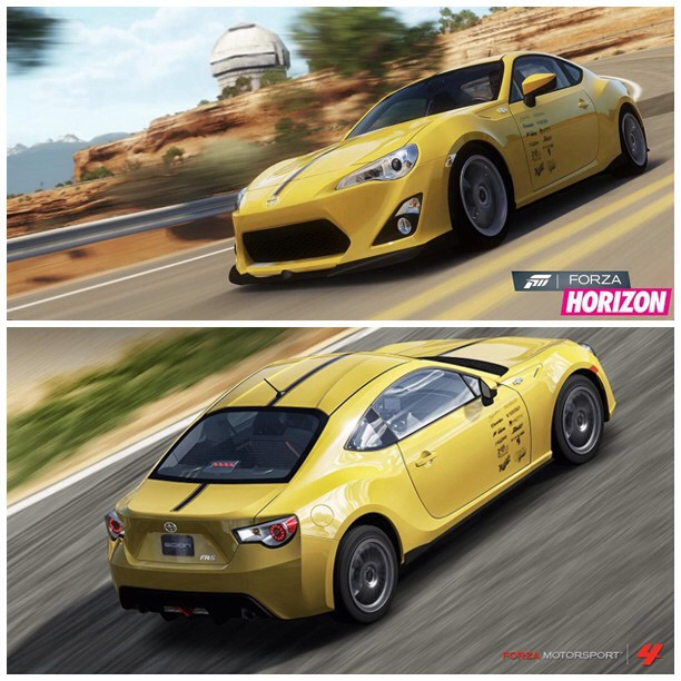 Meguiar's Vortech V-3 H67B Supercharged Scion FR-S in Forza Horizon and Forza Motorsport 4