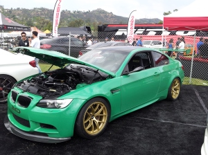 Green on Gold ESS E92 M3