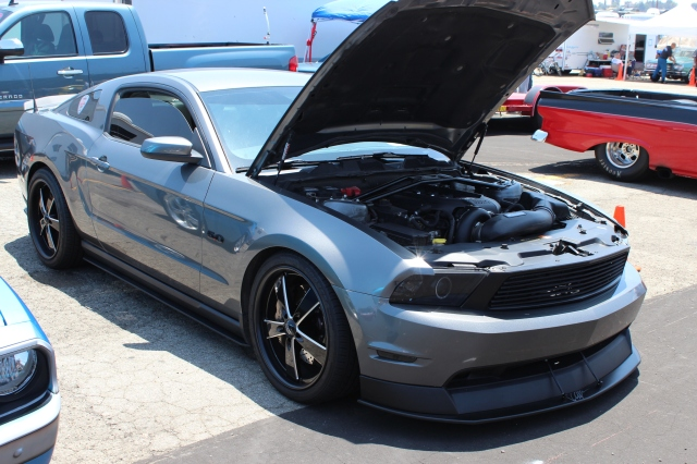 Vortech V-3 Supercharged Sterling Grey 5.0L Coyote Mustang GT