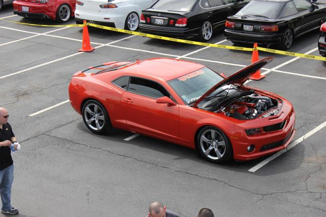 Johnny Matney's Vortech V-3 Si Supercharged Camaro SS