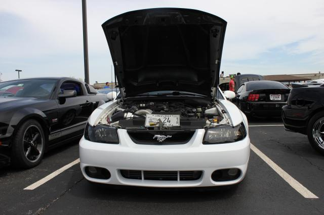Vortech V-3 Supercharged Mustang
