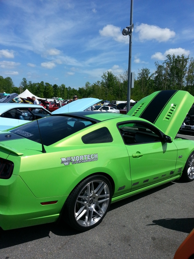 Nikki Frost's Vortech V-3 Si Supercharged Mustang GT @ MIR