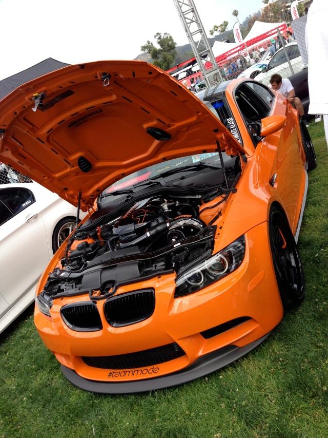 Orange ESS E92 M3
