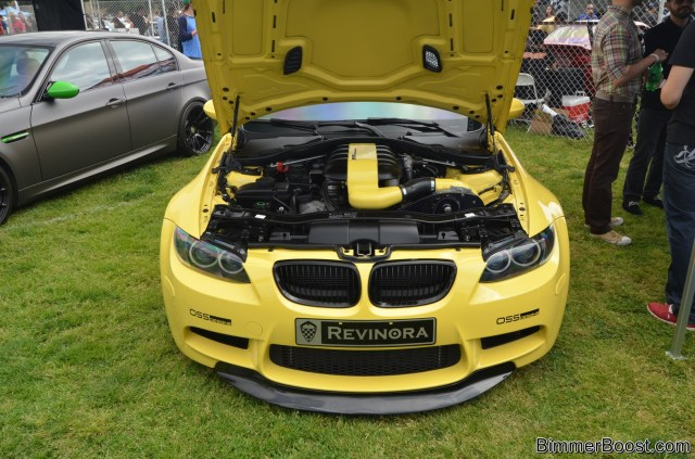Yellow on Yellow E92 M3