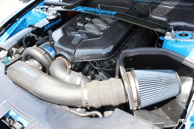 Ashton's Vortech V-3 Supercharged Hillbank Motorsports Mustang GT